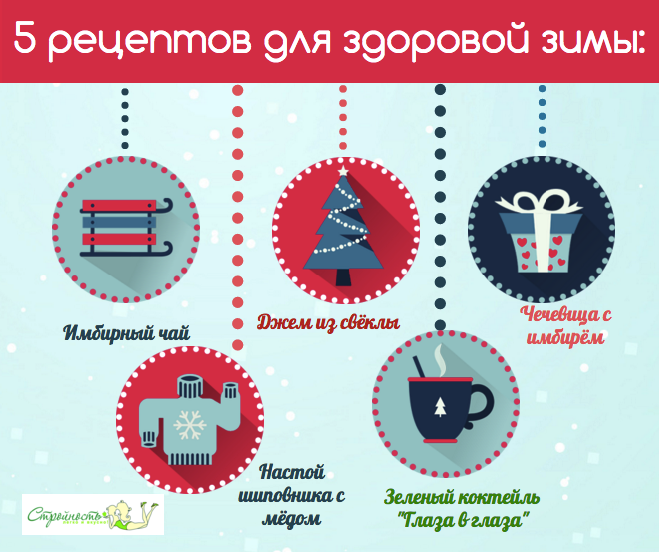 5 рецептов для здоровой зимы